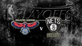 Atlanta Hawks vs Brooklyn Nets (Game 4) April 27, 2015