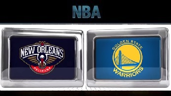 Golden State Warriors at New Orleans Pelicans