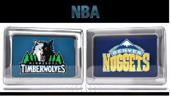 Minnesota Timberwolves at Denver Nuggets – Friday, October 30 2015