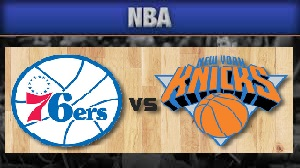 Philadelphia 76ers Vs New York Knicks Monday, October 12, 2015