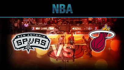 San Antonio Spurs Vs Miami Heat Game 7 Monday, October 12, 2015
