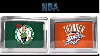 Boston Celtics vs Oklahoma City Thunder Sunday, November 15 2015