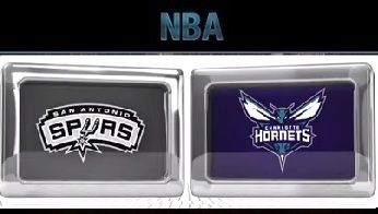 Charlotte Hornets vs San Antonio Spurs Saturday, November 7 2015