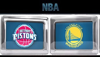 Detroit Pistons vs Golden State Warriors Monday, November 9 2015