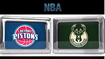 Detroit Pistons vs Milwaukee Bucks, November 23 2015