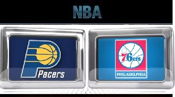 Indiana Pacers vs Philadelphia 76ers Wednesday, November 18 2015