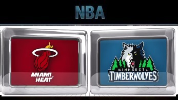 Miami Heat at Minnesota Timberwolves Thursday, November 5 2015