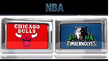 Minnesota Timberwolves vs Chicago Bulls Saturday, November 7 2015