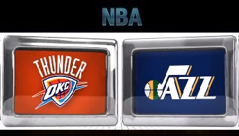 Utah Jazz vs Oklahoma City Thunder – 30, Mar 2014