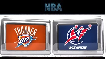 Oklahoma City Thunder vs Washington Wizards Tuesday, November 10 2015