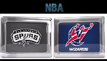 San Antonio Spurs at Washington Wizards Wednesday, November 4 2015
