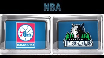 Philadelphia 76ers vs Minnesota Timberwolves, November 23 2015