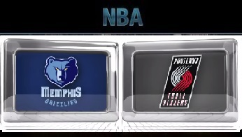 Portland Trail Blazers vs Memphis Grizzlies Thursday, November 5 2015