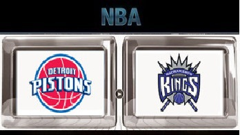 Sacramento Kings vs Detroit Pistons – Mar 18, 2016