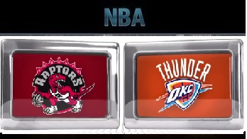 Toronto Raptors at Oklahoma City Thunder Wednesday, November 4 2015