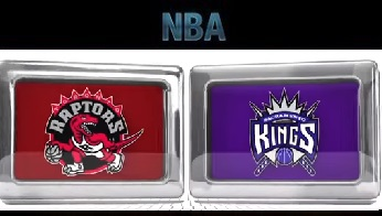 Toronto Raptors vs Sacramento Kings Sunday, November 15 2015