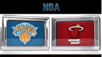 New York Knicks vs Miami Heat , November 23 2015