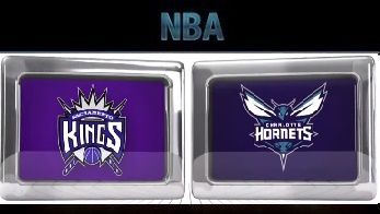 Sacramento Kings vs Charlotte Hornets , November 23 2015