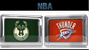 Milwaukee Bucks vs Oklahoma City Thunder – December 29, 2015