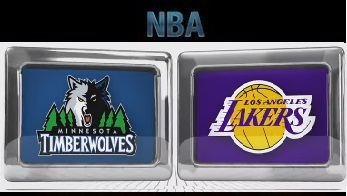 Minnesota Timberwolves vs Los Angeles Lakers – Dec 9 2015