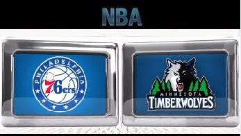 Minnesota Timberwolves vs Philadelphia 76ers - Jan 04, 2016
