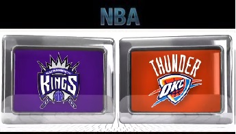 Sacramento Kings vs Oklahoma City Thunder – 28, Mar 2014