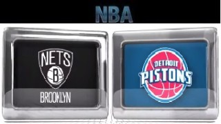 Brooklyn Nets vs Detroit Pistons – Feb 1, 2016