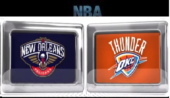New Orleans Pelicans vs Oklahoma City Thunder - Feb 11, 2016