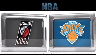 Portland Trail Blazers vs New York Knicks - Mar 01, 2016