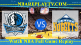 Dallas Mavericks vs Denver Nuggets – DEC-18-2018