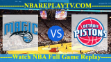 Orlando Magic vs Detroit Pistons – JAN-16-2019