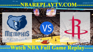 Memphis Grizzlies vs Houston Rockets – JAN-14-2019