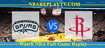 Houston Rockets vs San Antonio Spurs 14 Jan 2021 Replays Full Game