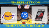 Portland Trail Blazers vs Los Angeles Lakers – APR-09-2019