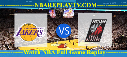 Los Angeles Lakers vs Portland Trail Blazers.png