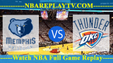 Oklahoma City Thunder vs Memphis Grizzlies 16 -10- 2019