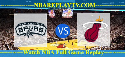 Game 5: Miami Heat vs San Antonio Spurs – June 15, 2014