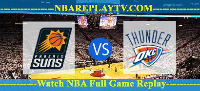 Oklahoma City Thunder vs Phoenix Suns