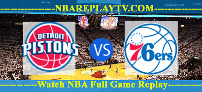 Philadelphia 76ers vs Detroit Pistons July 10, 2019