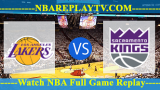 Sacramento Kings vs Los Angeles Lakers – MAR-24-2019