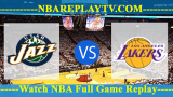 Utah Jazz vs Los Angeles Lakers – APR-07-2019