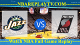 Utah Jazz vs Portland Trail Blazers 16 -10- 2019