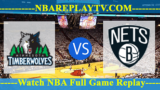 NBA SL 2019 Semi Final Broklyn Nets vs Minnesota Timberwolves July 14, 2019