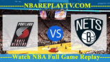 Brooklyn Nets vs Portland Trail Blazers – MAR-25-2019