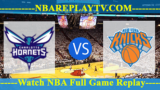 New York Knicks vs Charlotte Hornets – DEC-14-2018