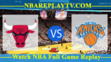 New York Knicks vs Chicago Bulls – APR-09-2019