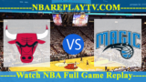Orlando Magic vs Chicago Bulls – JAN-02-2019