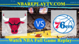 Chicago Bulls vs Philadelphia 76ers – APR-10-2019