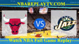 Utah Jazz vs Chicago Bulls – MAR-23-2019