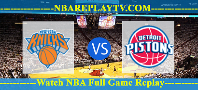 NBA Preseason Detroit Pistons vs New York Knicks – 13 Dec 2020